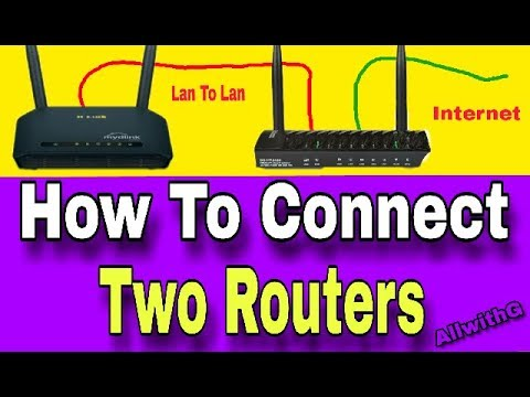 How To Connect Two Routers On One Home Network Using A Lan Cable | Hindi | Router Dilink / Digisol