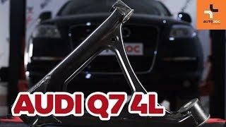 Ako vymeniť zadné spodné vodiace rameno na Audi Q7 4L NÁVOD | AUTODOC