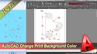 AutoCAD Print In Layout With Background Color