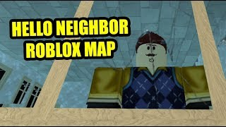 THE NEIGHBOR Act 2 | Hello Neighbor Roblox Map