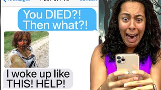 My Best Friend Turned Into A ZOMBIE!! *Real Life ZOMBIE APOCALYPSE!* (Scary Text Message Story)