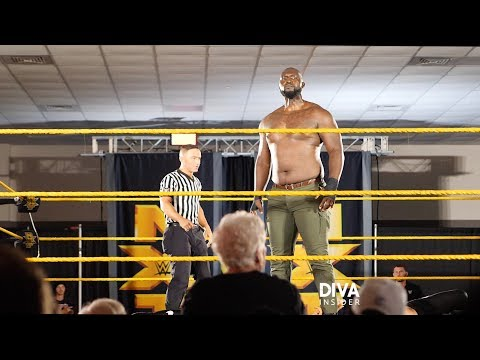 7-foot-3 ex-college basketball player Jordan Omogbehin makes WWE debut