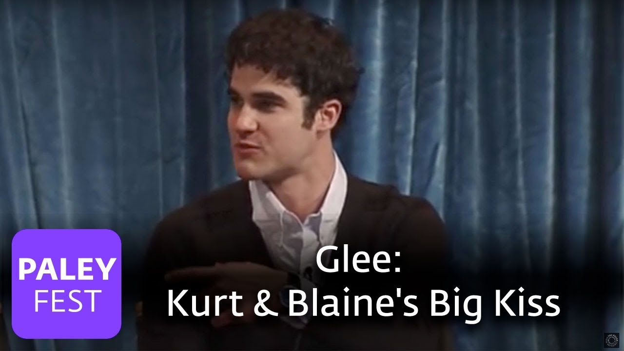 Glee Kurt Blaine Kiss: Kurt And Blaine's Big Kiss
