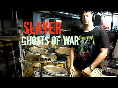 SLAYER - Ghosts of War - drum cover