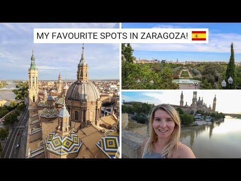 MY FAVOURITE PLACES IN ZARAGOZA, SPAIN! - Zaragoza Vlog