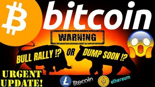 BULL RALLY or MORE DOWNSIDE COMING for BITCOIN LITECOIN ETHEREUM and DOW JONES crypto trading, news
