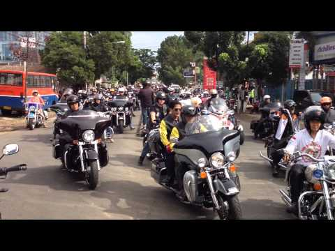 Thunder ride from Mabua Harley-Davidson for Grand Launching H-D MY15