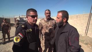 تنظيم الدولة الاسلامية يستهدف مقر قيادة الفرقة الذهبية في بلدة كوكجلي العراقية