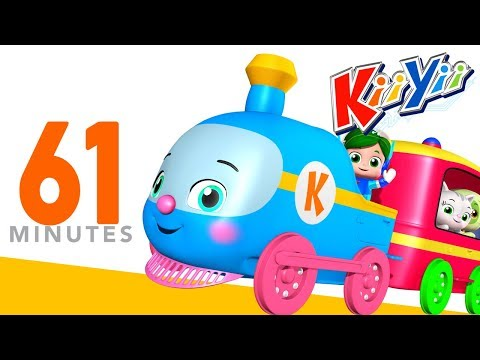 Thumbnail: Choo Choo Train | Plus Lots More Nursery Rhymes | 61 Minutes Compilation from KiiYii!