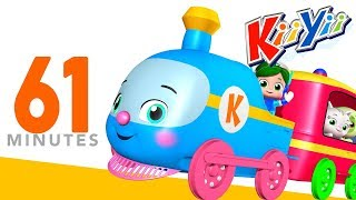 Choo Choo Train | Plus Lots More Nursery Rhymes | 61 Minutes Compilation from KiiYii!