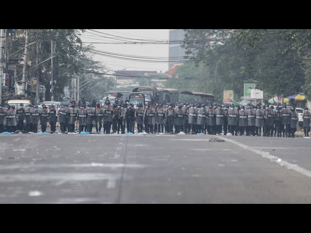 ミャンマー、3日の死者38人に 安保理が緊急協議へ