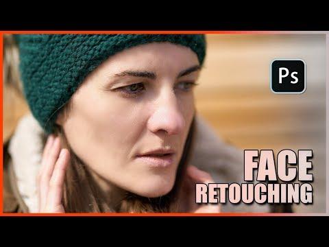 Easy Face Retouching : Photoshop Tutorial thumbnail