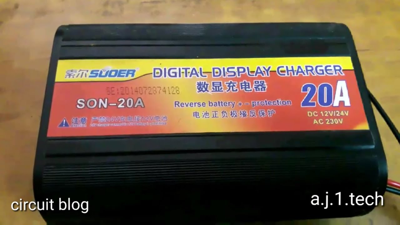 Suoer son-20a charger