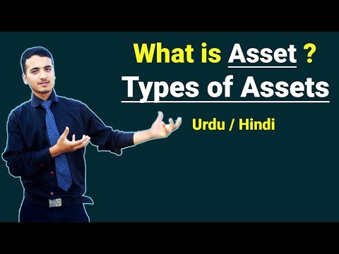 What is Asset & Types of Assets ? Urdu / Hindi