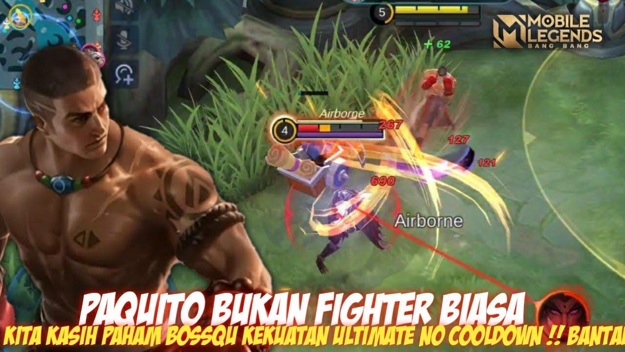 Paquito Bapake Chou Iki Bukan Fighter Biasa - Mobile Legends