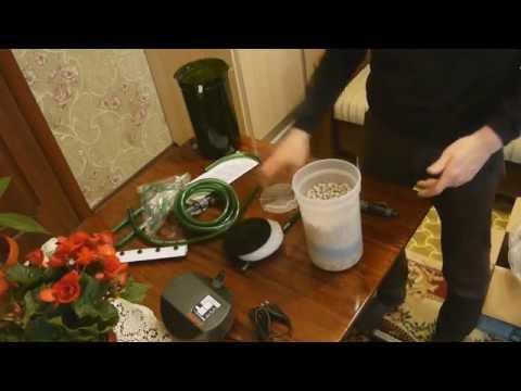 Unpacking Eheim 2213 (Classic 250) с бионаполнителем