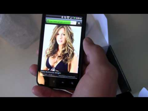 HTC Droid Incredible 2 Unboxing