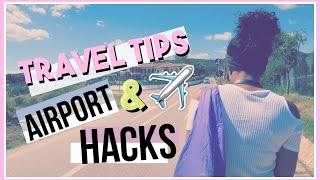 TRAVELLING HACKS! : How to Pack, Airport Tips & My Essentials! | FionaBrianne
