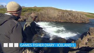 Egy sporthorgász naplója – Izland 1. rész
