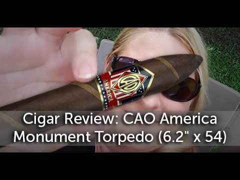 CAO America Monument Torpedo Cigar Review