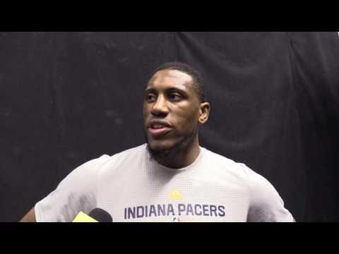 Practice: Thaddeus Young on Finding Consistency, Defense