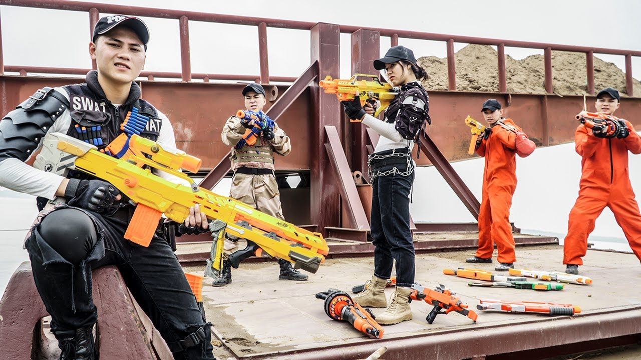 LTT Nerf War : SEAL X Warriors Nerf Guns Fight Dr Ken Crazy Sniper Campaign On The Enemy Base
