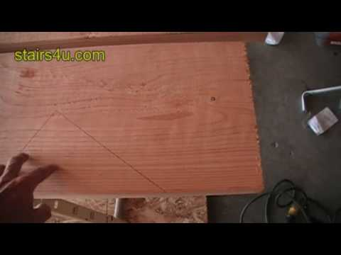 Bottom Starting Point For Stair Stringer Layout - Building And Construction