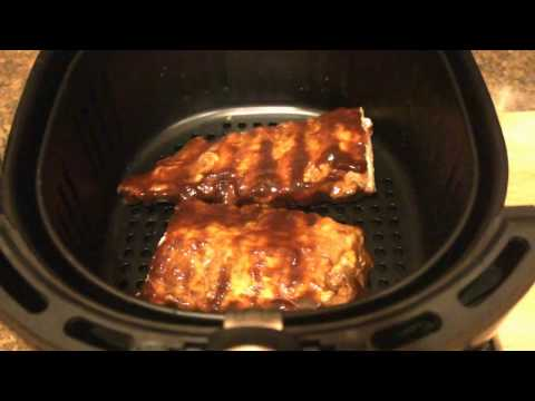 Review of (and cooking ribs in) the GoWISE Air Fryer