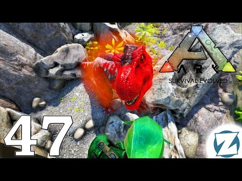 ARK Survival Evolved Gameplay - Ep47 - Alpha Trex vs Trex Army - Let's Play