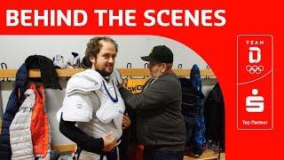 In der Umkleide der deutschen Eishockey Nationalmannschaft 🏒 | Team Deutschland | PyeongChang 2018