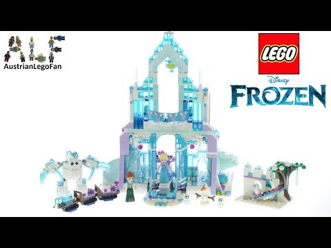 Lego Frozen 43172 Elsa´s Magical Ice Palace - Lego Speed Build Review