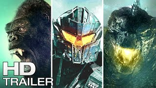 GODZILLA vs KING KONG vs PACIFIC RIM (2021) | FULL DRAWN TRAILER!