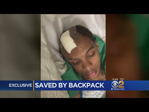 Exclusive: Bronx Man Says Backpack Saved His Life In Shooting