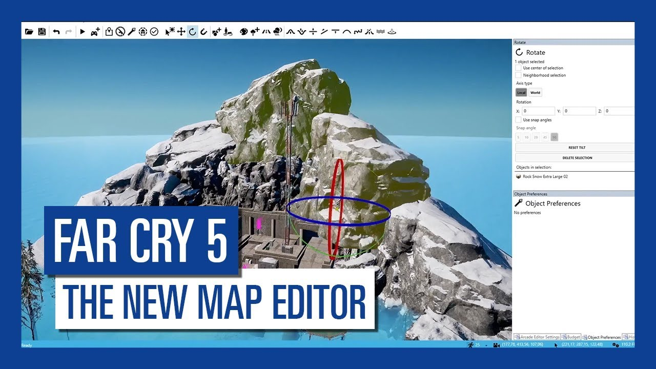 Far Cry 5 The New Map Editor Youtube