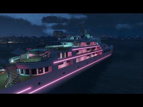 I finally got a yacht in GTA Online!