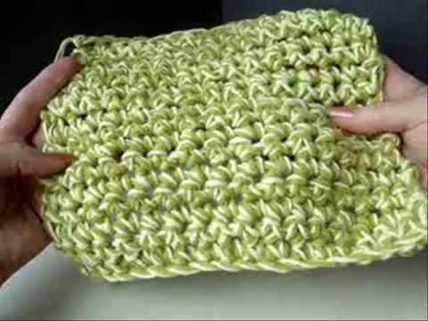 HOW TO CROCHET THICK, LUXURIOUS WASHCLOTHS or DISHCLOTHS in 7 minutes!