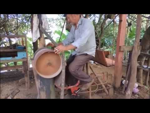 Human Powered Machines, Off The Grid Sawmill, Bicycle Wood Mill Chainsaw