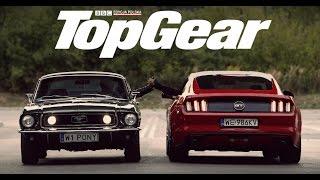 Ford Mustang: GT V8 (2015) vs GT 390 Bullitt (1968)