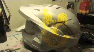 Custom Halo Helmet - Process video