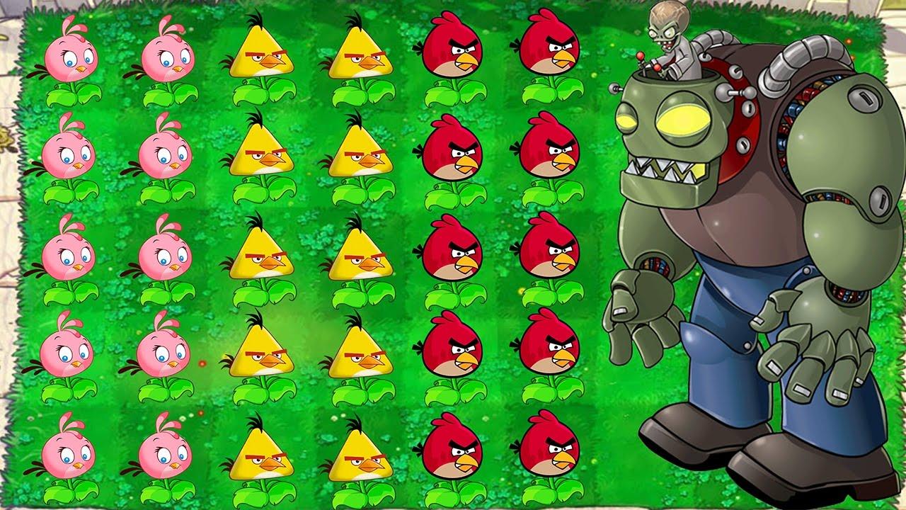 Plants Vs Zombies Mod Angry Birds Youtube