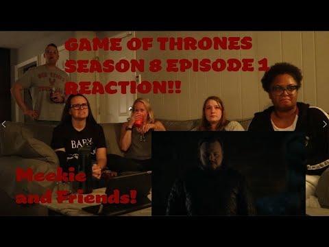 GAME OF THRONES SEASON 8 EPISODE 1 GROUP 'WINTERFELL' REACTION!! (READ DESCRIPTION BOX)