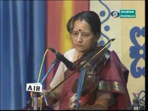 Lalitha Raghavan --Violin -- MamavaSadhaJanani -- Kanada