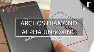 Archos Diamond Alpha Unboxing & Hands-on Review