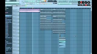 FL Studio Remake: Enrique Iglesias - I Like How It Feels (Afrojack Remix) (Drop) [DiegoMolinams