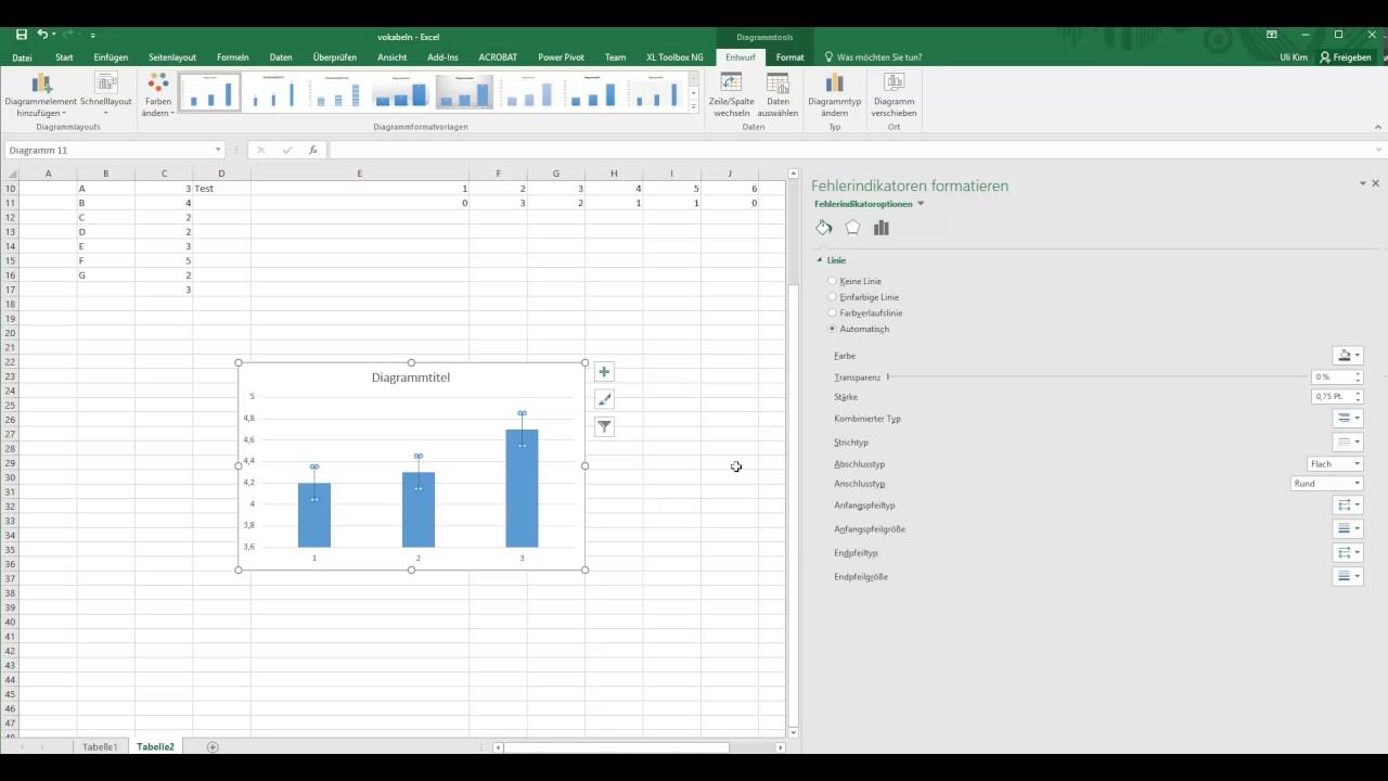 Standardabweichung Excel