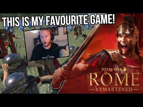 ROME TOTAL WAR REMASTERED!? LIVE REACTION  