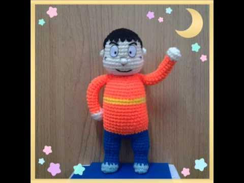 Crochet Doraemon Amigurumi : Crochet doraemon youtube