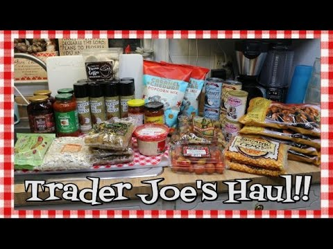 Trader Joe's Haul~Grocery Haul~Phillips FamBam~Channel Shout Out~Noreen's Kitchen