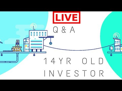 LIVE \\ Q&A with 14yr Old Crypto Investor \\ Price Predictions for Bitcoin, Ethereum, Ripple