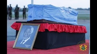 Kofi Annan's body returns home to Ghana